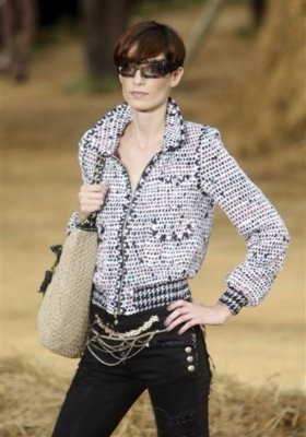 Chanel S/S 2010 - Iris Strubegger