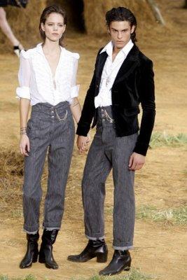 Chanel S/S 2010 - Freja Beha Erichsen & Baptiste Giabiconi