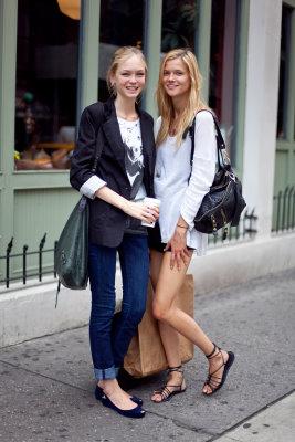 altamira: Models Off Duty - Siri Tollerod & Kasia Struss