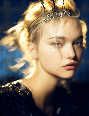 VOGUE India October 2007 - Gemma Ward