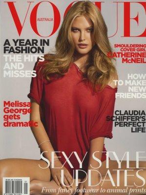 Vogue Australia January 2010 - Catherine McNeil
