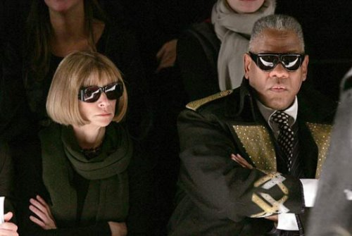 Anna Wintour & Andre Leon Talley