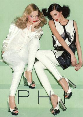 PHI S/S'09 - Kinga Rajzak & Viktoriya Saonkina