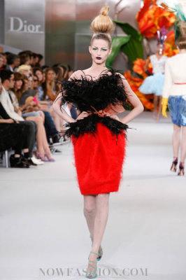 Christian Dior Haute Couture F/W 2010:Michaela Kocianova