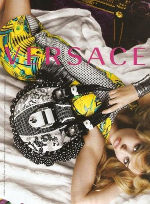 Versace S/S 2010 : Georgia May Jagger