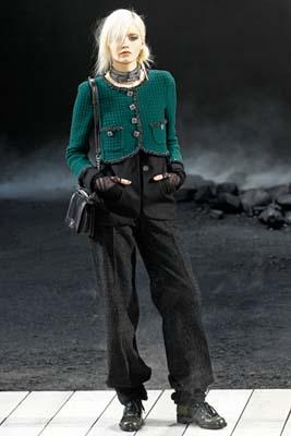 Chanel F/W 2011 - Abbey Lee Kershaw