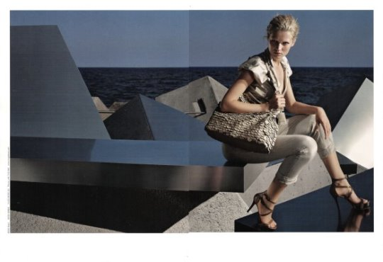 Hugo Boss Black S/S 2010 : Toni Garrn