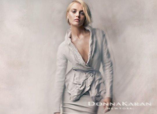 Donna Karan S/S 2010 : Anna Maria Jagodzinska