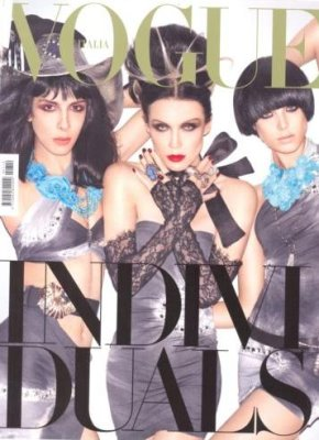 Vogue Italia February 2010 - Jamie Bochert, Daphne Guinness & Agyness Deyn