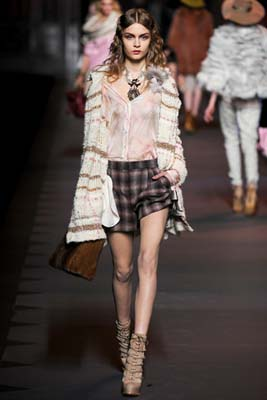 Christian Dior F/W 2011 - Josephine Skriver