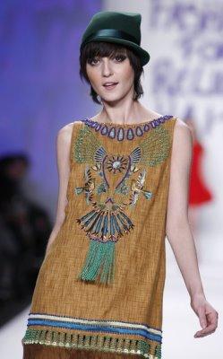Fashion for Relief Haiti - Irina Lazareanu