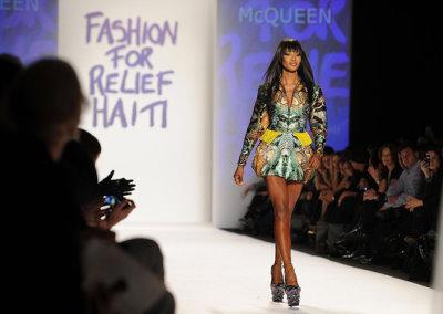 Fashion For Relief Haiti - Naomi Campbell