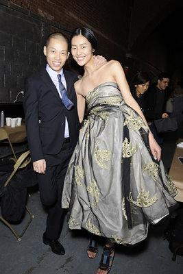 Jason Wu F/W 2010 - Jason Wu & Liu Wen