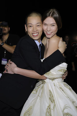 Jason Wu F/W 2010 - Jason Wu & Karlie Kloss