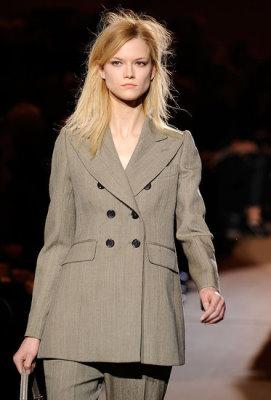 Marc Jacobs F/W 2010 - Kasia Struss