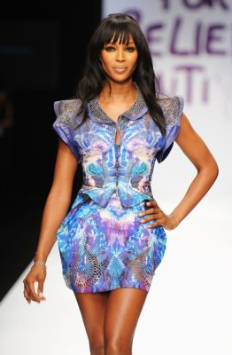 Fashion For Relief Haiti - Naomi Campbell