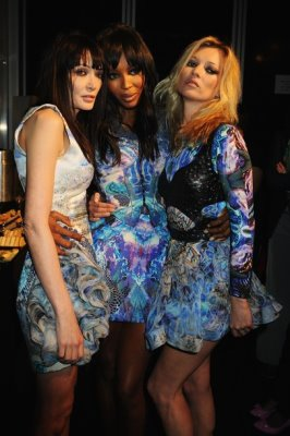 Fashion For Relief Haiti - Annabelle Neilson,Naomi Campbell and Kate Moss