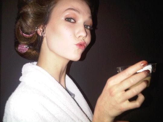 Gucci F/W 2010 - Karlie Kloss
