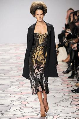 Giles F/W 2010 - Alessandra Ambrosio