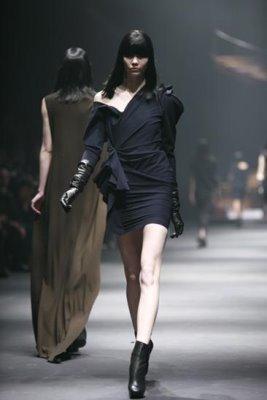 Lanvin F/W 2010 - Karlie Kloss