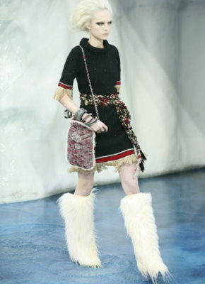 Chanel F/W 2010 - Siri Tollerod