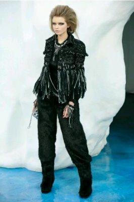 Chanel F/W 2010 - Abbey Lee