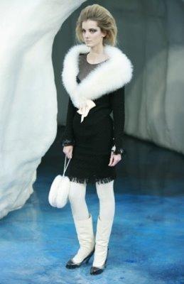 Chanel F/W 2010 - Denisa Dvorakova