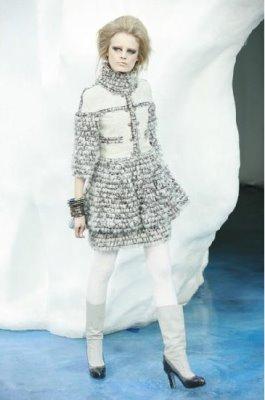 Chanel F/W 2010 - Hanne Gaby Odiele