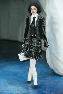 Chanel F/W 2010 - Jacquelyn Jablonski