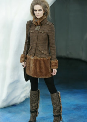 Chanel F/W 2010 - Mirte Maas