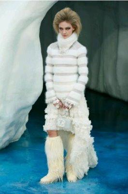 Chanel F/W 2010 -Sasha Pivovarova