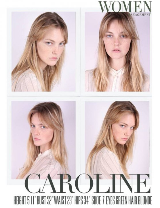 Women Model Management - Carol Trentini