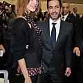 Natalia Vodianova and Marc Jacobs