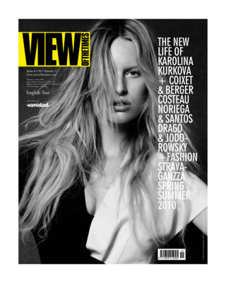 View of the Times Spring 2010:Karolina Kurkova
