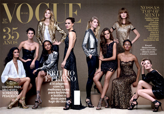 Vogue Brazil May 2010: 35th Anniversary Issue