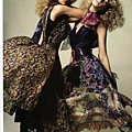 Vogue Nippon June 2010 : Sigrid Agren and Patricia van der Vliet