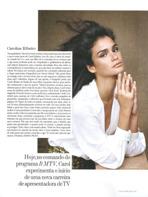 Vogue Brazil May 2010 :Caroline Ribeiro