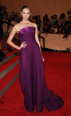 Met Gala 2010 - Karlie Kloss