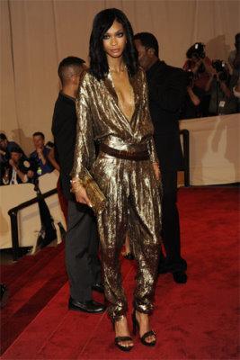 Met Gala 2010 - Chanel Iman