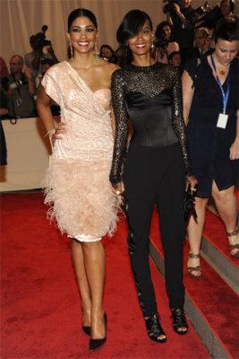 Met Gala 2010 - Rachel Roy & Liya Kebede