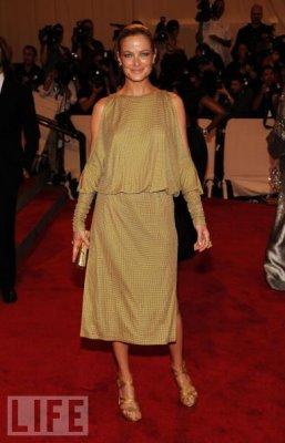 Met Gala 2010 - Carolyn Murphy