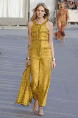 Chanel Cruise 2011 St. Tropez - Heidi Mount