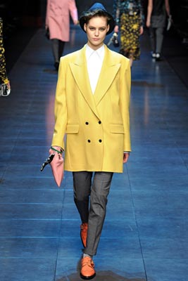 Dolce & Gabbana F/W 2011 - Juju Ivanyuk