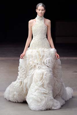 Alexander McQueen F/W 2011 - Kirsi Pyrhonen