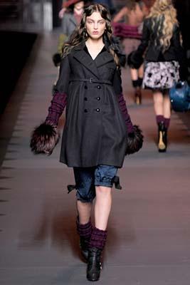 Christian Dior F/W 2011 - Georgina Stojikovic