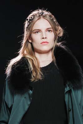 Nina Ricci F/W 2011 - Suvi Koponen