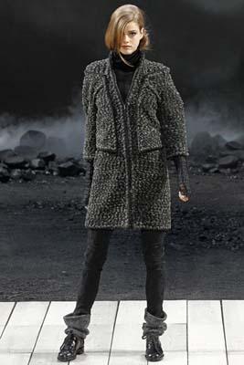 Chanel F/W 2011 - Julia Saner