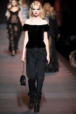Christian Dior F/W 2011 - Daphne Groeneveld