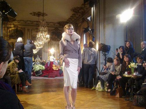 John Galliano F/W 2011 - Constance Jablonski