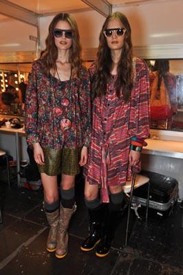 Cantão F/W 2011 : Katie Fogarty & Alla Kostromichova